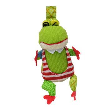 【全新品3折出清】法國【 DEGLINGOS】布偶吊飾 - 青蛙