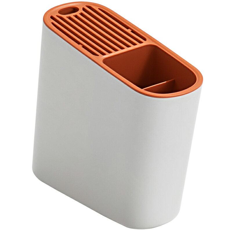 菜刀架 多功能廚房用品刀具餐具瀝水一體收納置物架家用筷子籠刀座刀架『CM41030』