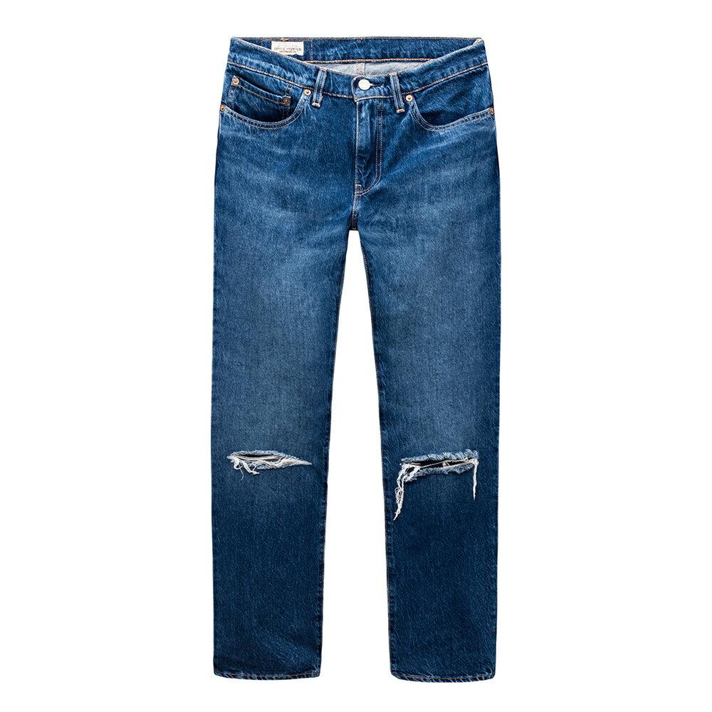 Levis 男款 511 低腰修身窄管牛仔長褲  /  破壞 1