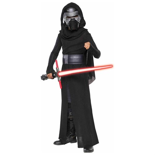 Star Wars VII: Kylo Ren Deluxe Kids Costume 0