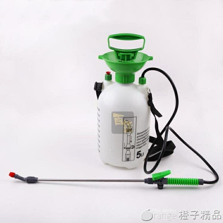 肩負可調節氣壓式小型農用5L8升噴霧器家用大容量澆花噴壺灑水壺SUPER 全館特惠9折