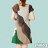 【Milida,全店七折免運】-斜領氣質經典款洋裝 2
