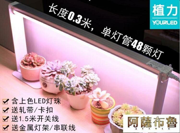 火爆夯貨~植物燈 植力 LED全光譜多肉補光燈防徒長上色植物生長光合作用家用仿太陽