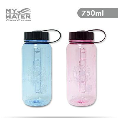 MY WATER 極簡生活水壺750ml 2色可選