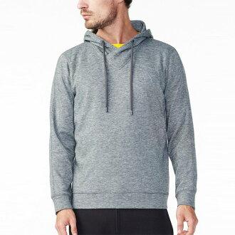 美國百分百【Armani Exchange】長袖 AX 連帽 T恤 T-shirt 亞曼尼 上衣 灰色 S號 H700