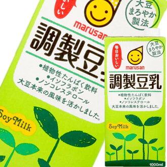 【MARUSAN丸三】調製豆乳 1L 日本進口飲料