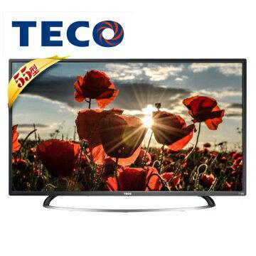 TECO 東元 TL55A1TRE 55吋 IPS顯示器+視訊盒 - 限時優惠好康折扣