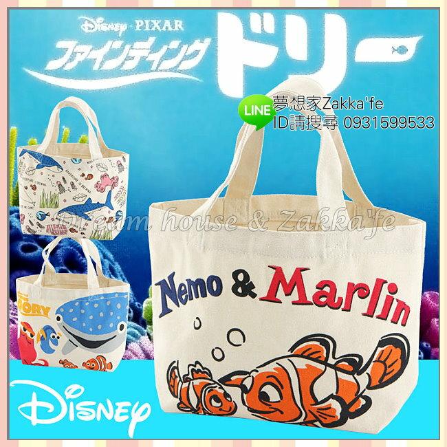 DISNEY 迪士尼 海底總動員 棉布包  手提包  手提袋  包包 ~ Nemo  尼莫