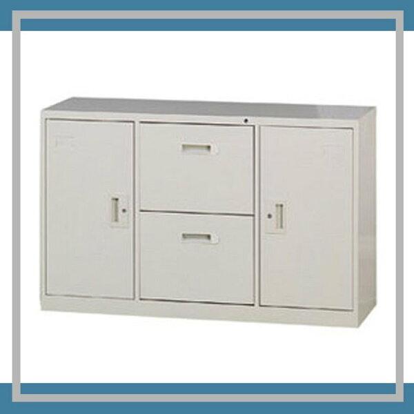 『商款熱銷款』【辦公家具】A-4202D二抽二門4尺隔間櫃卷宗櫃櫃子檔案收納內務休息室