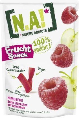 【德潮購】NA Frucht Snack 100%濃縮果汁糖35g 草莓/覆盆莓