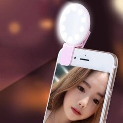 三段式直播補光燈 手機自拍燈 網紅 網美 主播美顏瘦臉打光燈