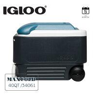 IGLOO MAXCOLD系列五日鮮40QT拉桿冰桶34061 / 城市綠洲(美國製造,保冷,保鮮,五天、露營冰桶)-城市綠洲-運動休閒推薦