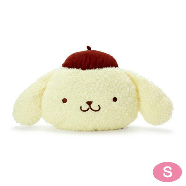 【真愛日本】18052300005造型靠墊S-PN大臉ACP布丁狗三麗鷗靠墊抱枕枕頭居家裝飾