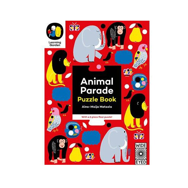Animal Parade: Puzzle Book ~ With a 6 Piece F