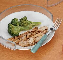 【銀元氣屋】食物防溢餐盤框
