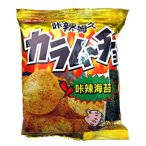湖池屋卡辣姆久-卡辣海苔洋芋片82g【愛買】