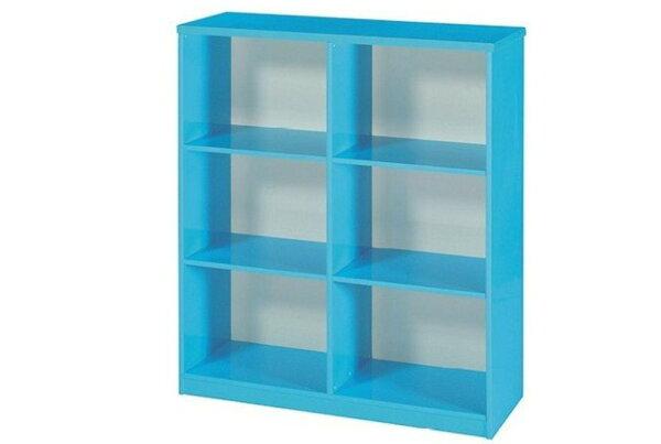 【石川家居】936-04藍色書櫃(CT-903)#訂製預購款式#環保塑鋼P無毒防霉易清潔