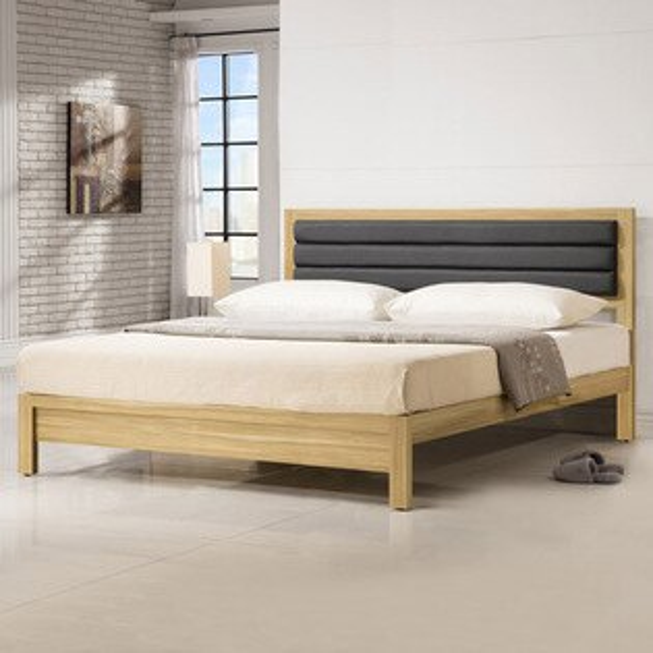 床架 床台 床組 雙人床 木床架 床組 房間組 臥室《Yostyle》傑米床架組-雙人加大6尺