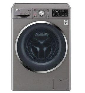 LG9公斤6MotionDD直驅變頻蒸氣滾筒洗脫烘衣機WD-S90TCS(精緻銀)