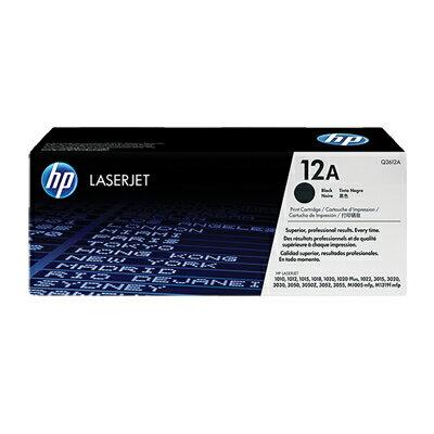 惠普 HP Q2612A (No.12A) 黑色碳粉匣(列印張數:2000張)(5%覆蓋率)?★★★全新原廠公司貨含稅附發票★★★