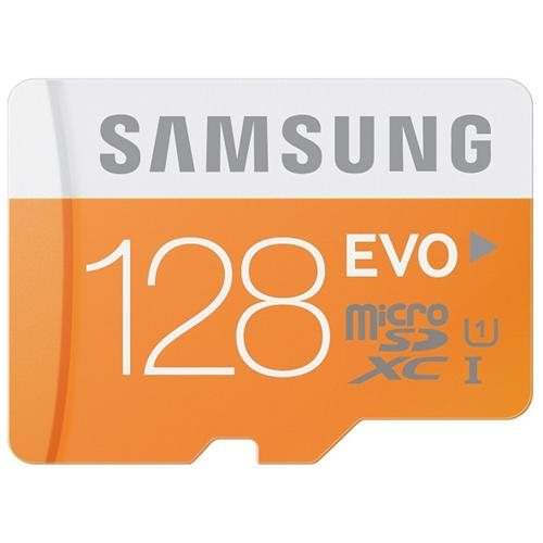 Samsung EVO 128GB microSDXC 128G micro SD SDXC UHS-I U1 C10 48MB/s microSD Class 10 MB-MP128DA with Original SD Adapter and OEM USB 3.0 Card Reader 1