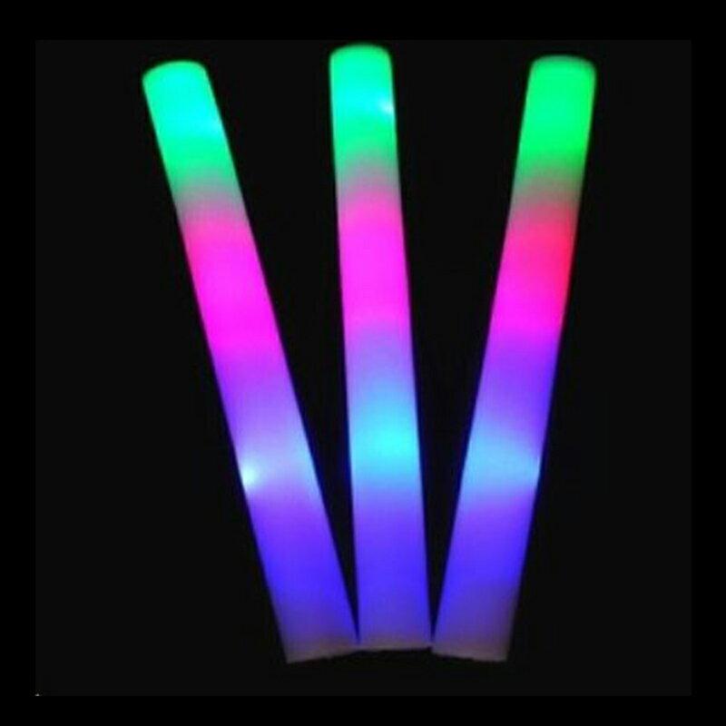 七彩發光海綿螢光棒 LED棒 (不挑色)