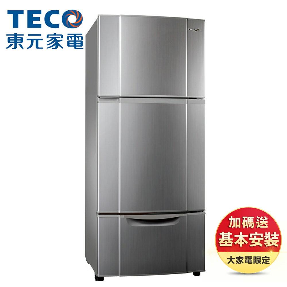 【TECO 東元】★送隨行杯果汁機★477公升 一級能效變頻三門冰箱 (R4765VXLH)