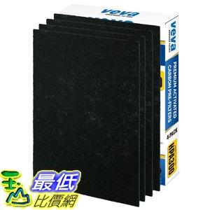 [107美國直購] VEVA Precut for HPA300 Premium Carbon Activated Pre Filters 4 Pack compatible with HW Air ..