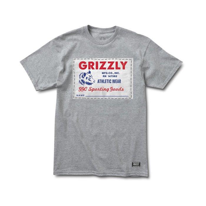 BEETLE GRIZZLY GRIPTAPE ARCHIVE LABEL 灰熊 小熊 灰白 LOGO 短T TEE - 限時優惠好康折扣