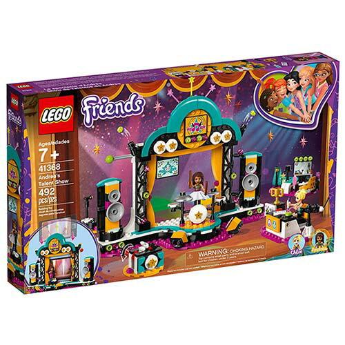 樂高LEGO 41368 Friends 姊妹淘系列 - 安德里亞的才藝競賽 - 限時優惠好康折扣