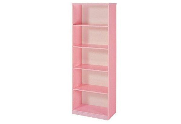 【石川家居】936-10粉紅色書櫃(CT-906)#訂製預購款式#環保塑鋼P無毒防霉易清潔