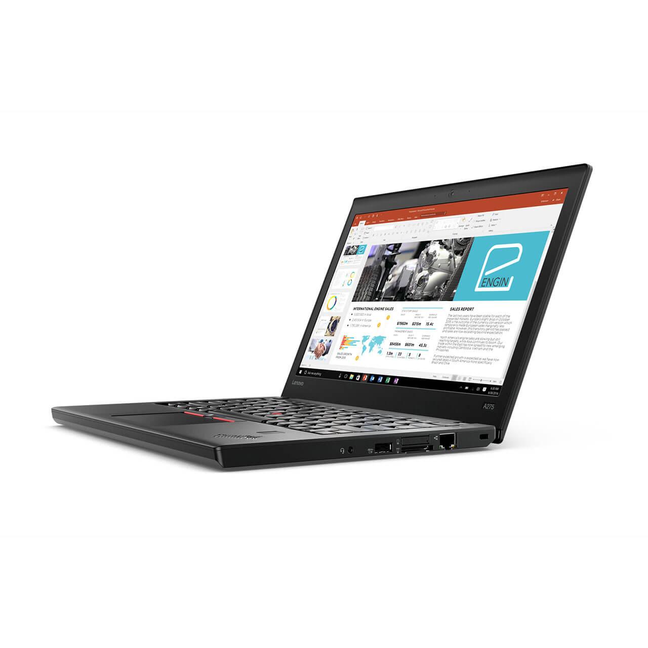 """Lenovo ThinkPad A275, 12.5"""", AMD A12-9800B -9800B, 8GB DDR4 RAM, 256GB SSD, Win 10 Pro 64 1"""