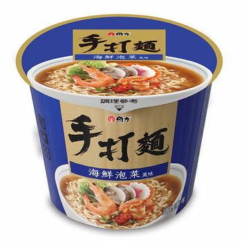 維力手打麵桶麵海鮮泡菜100g(每組2桶)【合迷雅好物商城】