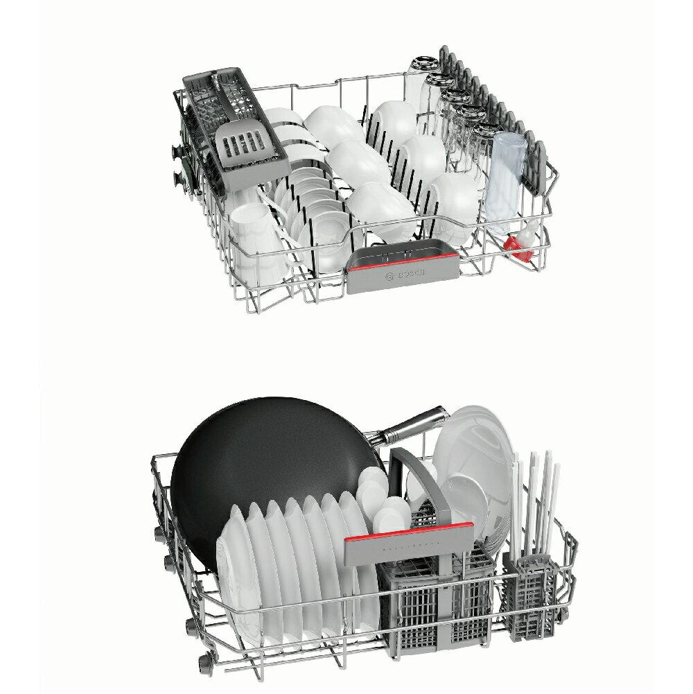 ★贈基本安裝【BOSCH博世】60cm 13人份 110V獨立式洗碗機(SMS53E12TC) 4