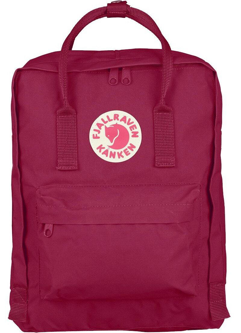 Fjallraven 小狐狸 Kanken Classic 瑞典書包/空肯包/方型後背包 23510 420 紫紅