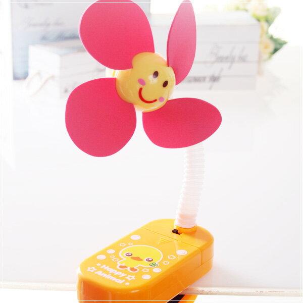魔法Baby~嬰兒推車用安全夾飾風扇(黃小雞)~嬰幼兒用品~時尚設計~b20014_d