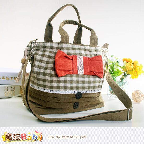 側背及手提拼布包 兒童成人皆適用 魔法Baby~f0130