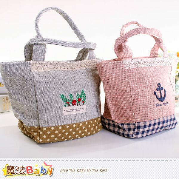 拼布手提袋 便當袋(A.B) 兒童成人皆適用 魔法Baby~f0132