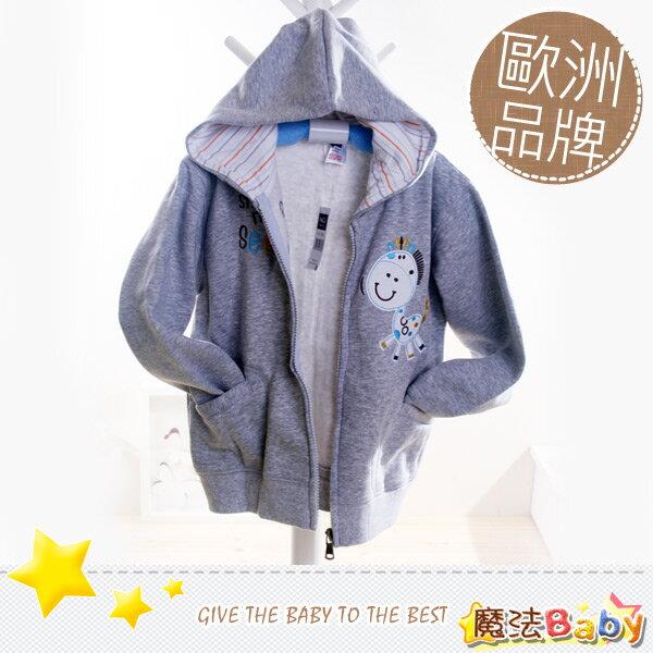 魔法Baby~歐洲品牌小童連帽外套(小彩馬)~童裝~男童裝~時尚設計童裝~k04550