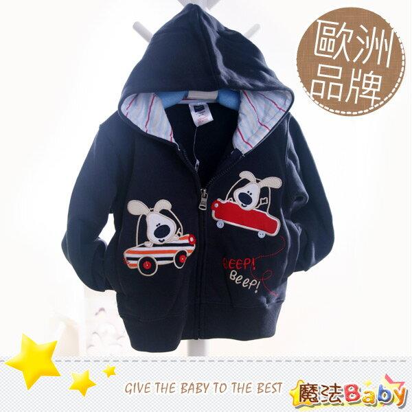魔法Baby~歐洲品牌小童連帽外套(雙胞車)~童裝~男童裝~時尚設計童裝~k04567