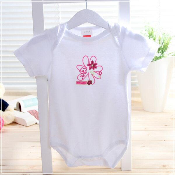魔法Baby ~自然系純棉短袖包屁衣(a.b.c.d.e)~童裝~女童裝~時尚設計童裝~k06080
