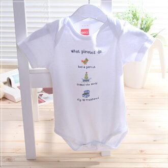 魔法Baby ~自然系純棉短袖包屁衣(f.g.h.i.j)~童裝~男童裝~時尚設計童裝~k06080f~j