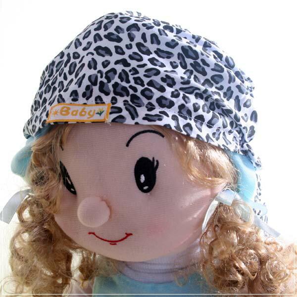 魔法Baby ~新潮海盜帽(豹紋)~兒童帽~時尚設計童裝~k22711