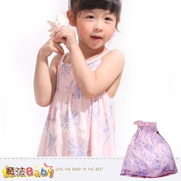 魔法Baby~夏季雛菊無袖連身裙/洋裝~獨家品牌代言波波公主~女童裝~k27723