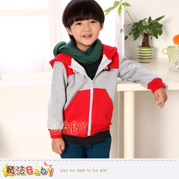 魔法Baby~DODOMO品牌~牛角扣連帽厚外套/上衣~男女童裝~k30938