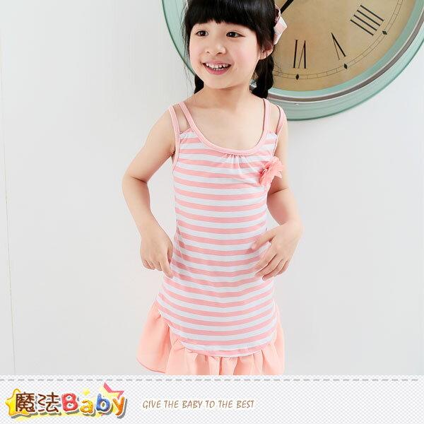 背心裙~細肩帶洋裝~女 ~魔法Baby~k34820