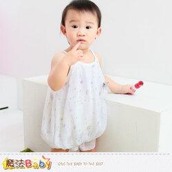 吊帶裙~嬰幼兒細肩帶連身裙~魔法Baby~k34936