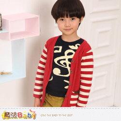 兒童針織開襟外套 專櫃品牌流行童裝 魔法Baby~k37234