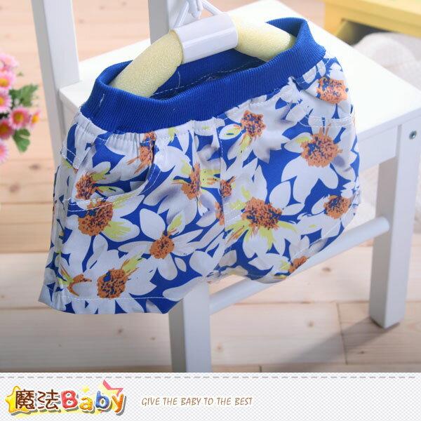 女童夏季短褲 魔法Baby~k40784