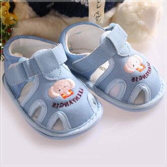 魔法Baby ~KUKI 酷奇可愛大象俏皮系童鞋(藍)~s5690